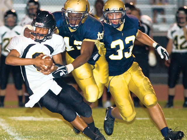 Desert Vista Thunder football
