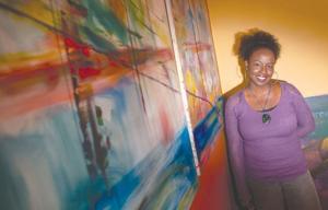 Artist Tara Prescott