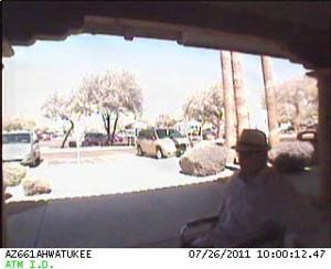 Wheelchair bank robbery