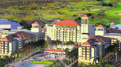 Gaylord resort rendering