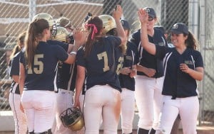 Desert Vista softball