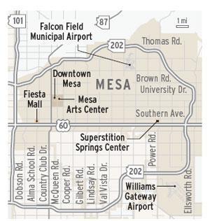 Mesa map