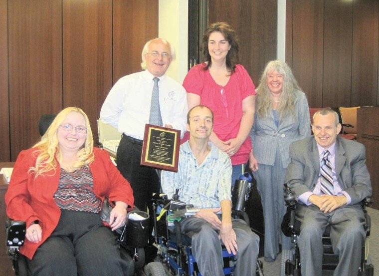 John Britton receives Spirit of ABIL Award