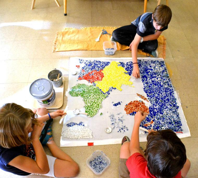 Keystone Montessori embracing peace on campus