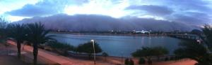 Tempe Town Lake dust storm