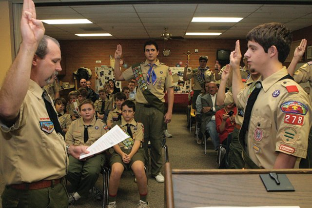 Local Troop 278 home to a number of exclusive Eagle Scouts