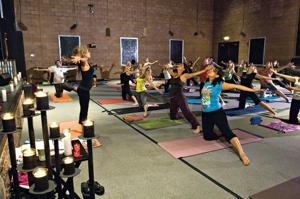 'Restorative Yoga' is a stress-reliever for residents