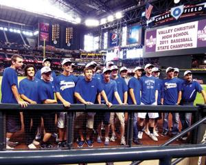 Trojans honored by D-backs