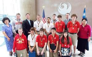 Stanton awards Seton students in Mandarin Chinese Program