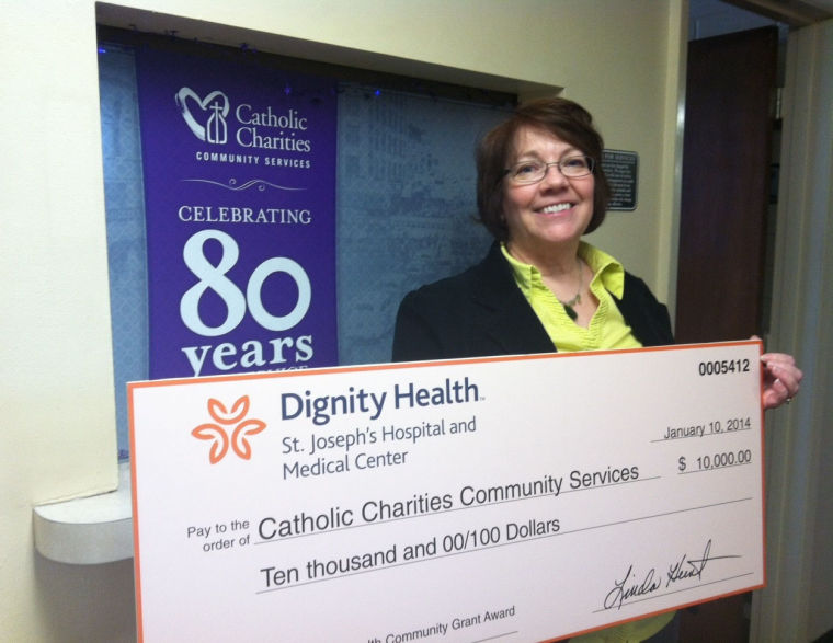 Catholic Charities receives $10K from Dignity Health