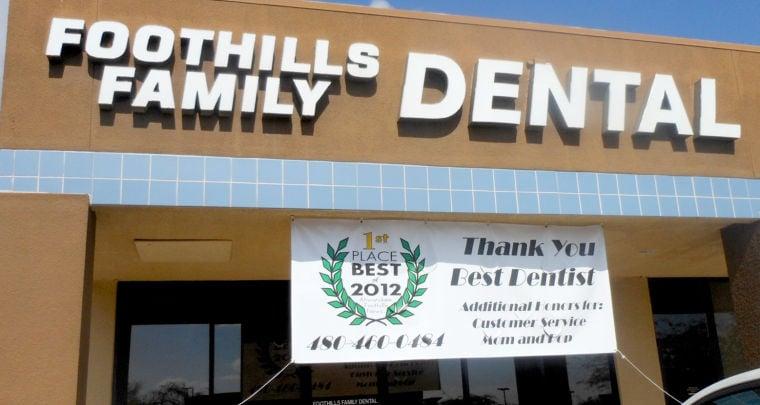 Foothills Family Dental banner