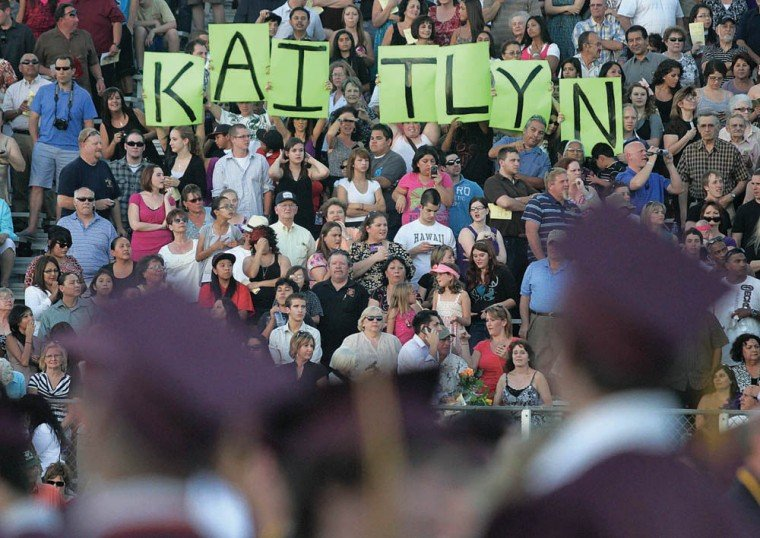 Mountain Pointe graduation 2011