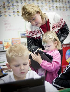 iPad Kindergarteners