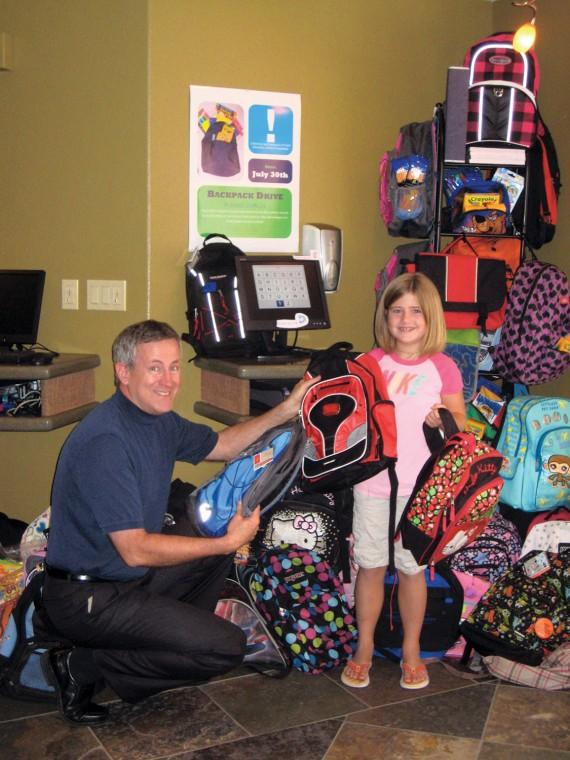 Dr. Pearson backpack drive