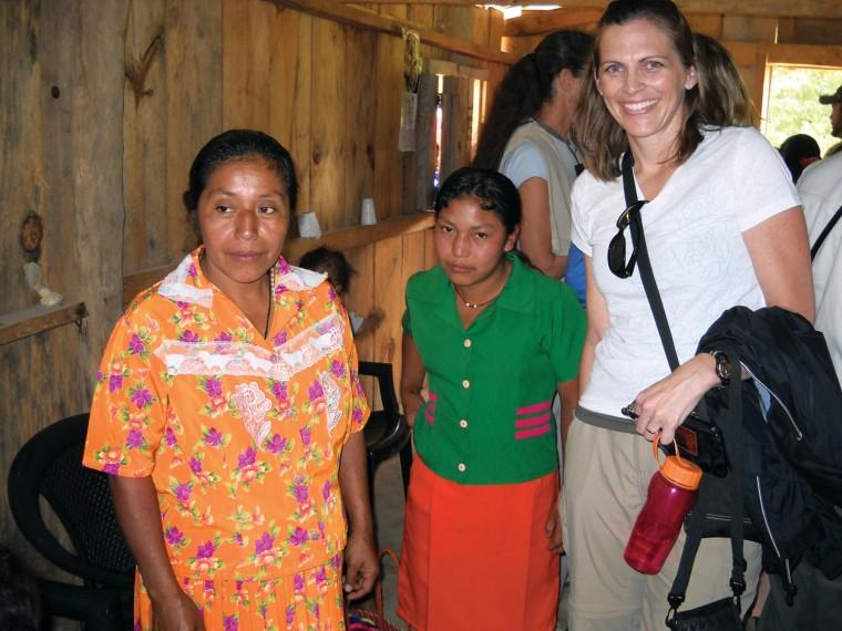 Dawn Schmidt in Honduras