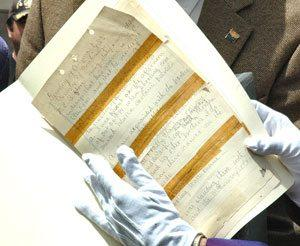 State archives to get original OK Corral papers