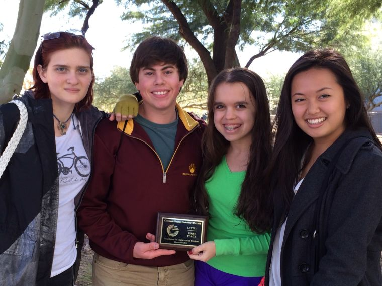 Mountain Pointe competes in 'Excellence in Mathematics Competition'