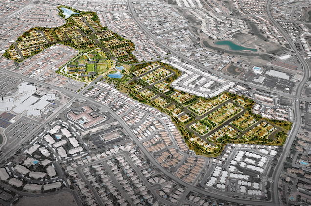 How Ahwatukee Farms would occupy the old golf course