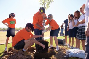 St. John Bosco Interparish School receives 73 new trees