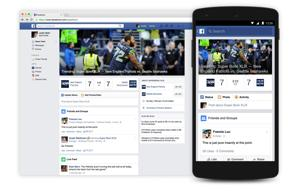 Super Bowl-Facebook Football