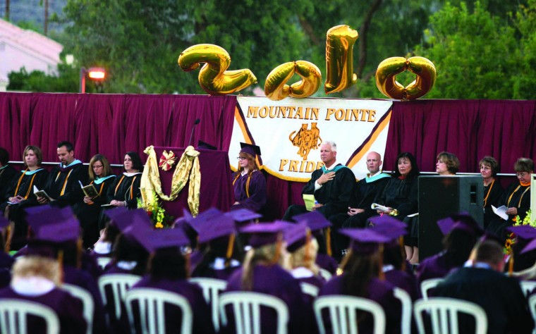 Mountain Pointe graduation