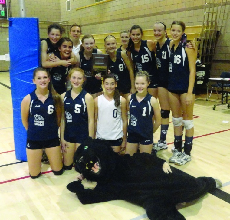 Altadena 2012 Girls Varsity Volleyball Team