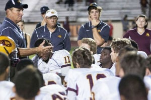 Mountain Pointe coach Norris Vaughan
