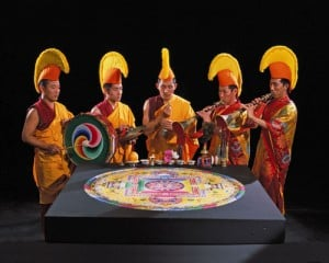 Sand mandala