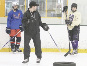 Local hockey players prepare for trip to Latvia