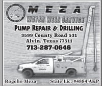 Meza Water Well Service