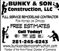 Bunky & Son Construction, LLC