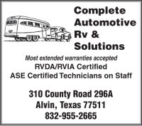 Complete Automotive Rv & Solutions