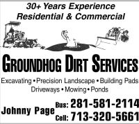 Groundhog Dirt Services