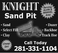 KNIGHT SAND PIT