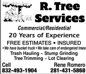 R. Tree Services