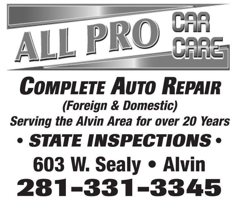 All Pro Car Care Alvin TX