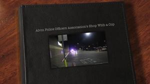 Alvin Police Officers Association's Shop With a Cop