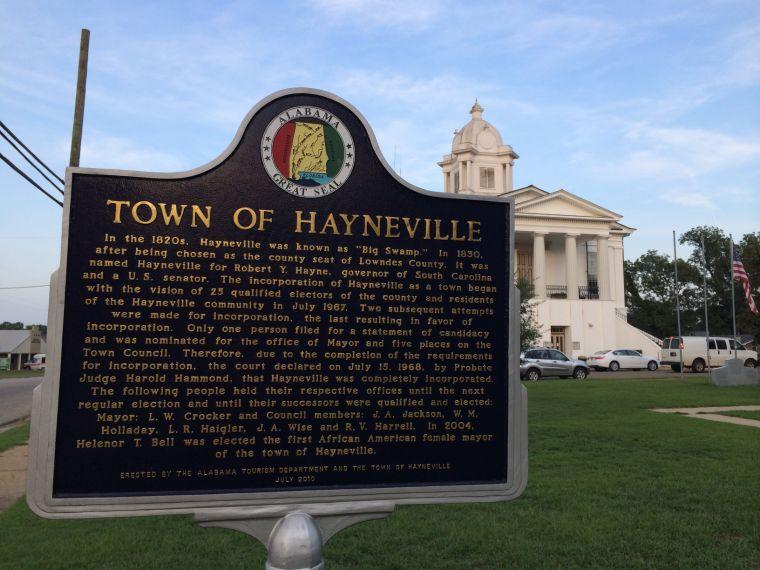 Hayneville's history