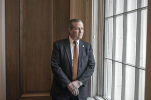 <p>Rep. Mike Hubbard at the Alabama State Capitol in Montgomery on Jan. 9, 2014. (William Widmer/The New York Times)</p>