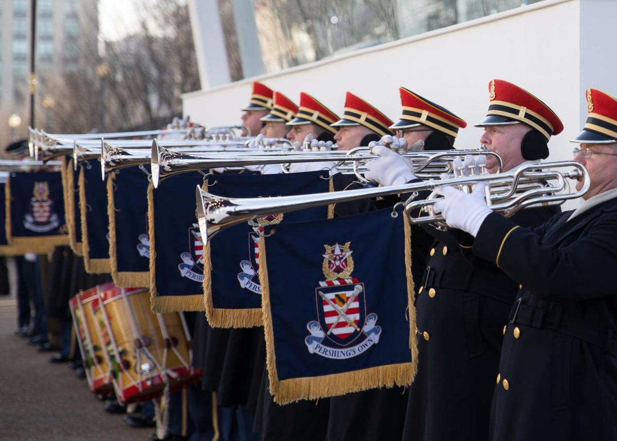 Army band gives Saks High grad close view of inauguration
