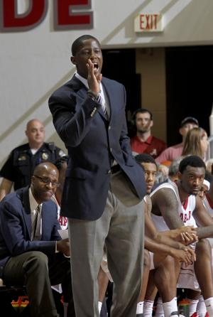 <p>Anthony Grant's Alabama team is 3-4 in SEC play. Photo by Ben Jackson/University of Alabama</p>