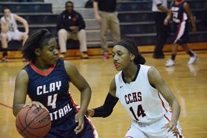 <p>Eryka Ware led the Tigers in scoring against Clay Central  at home last week.</p>
