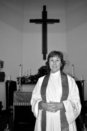 <p>The Rev. Mollie Roberts is the new rector at St. Simon Peter Episcopal Church</p>