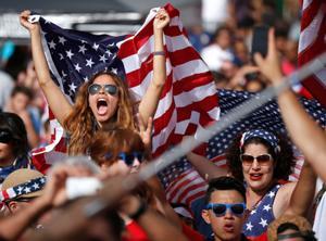 U.S. World Cup fans