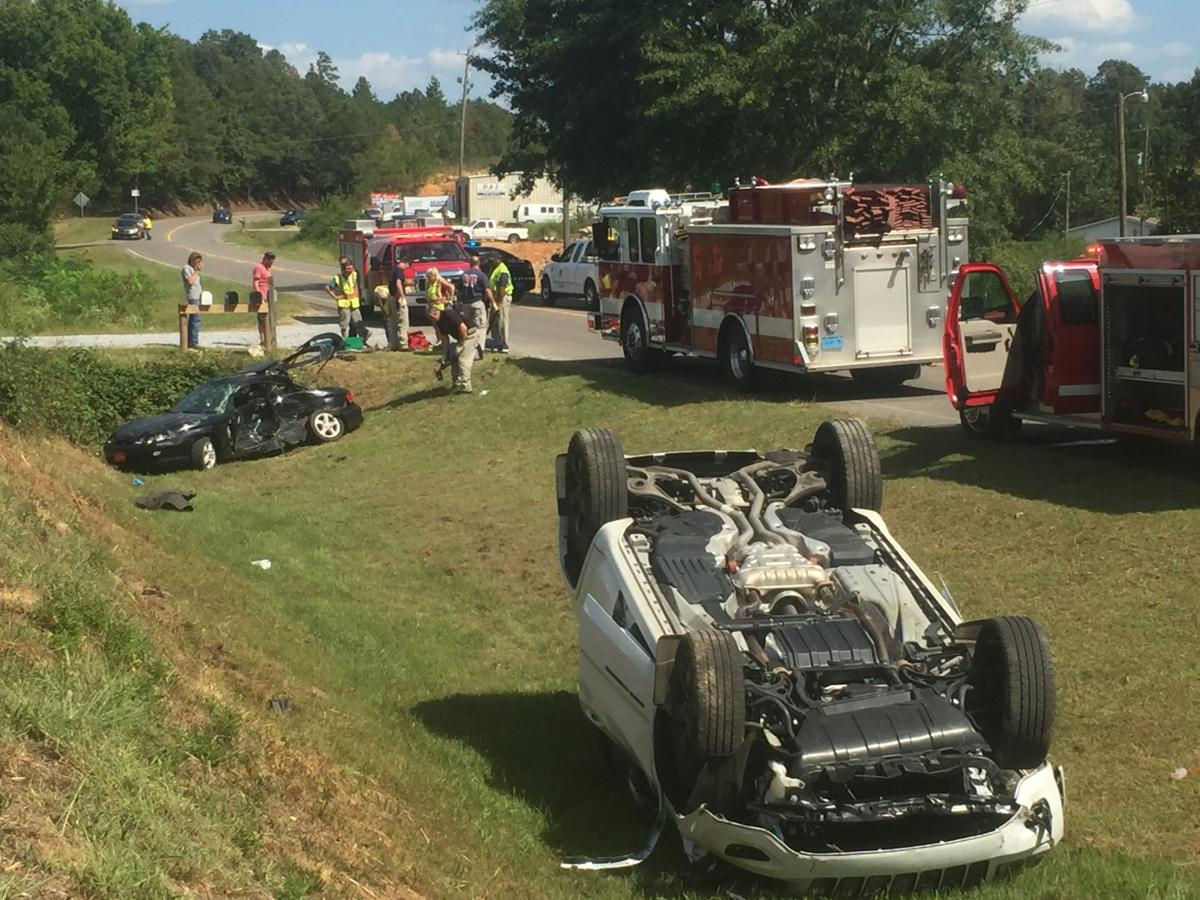 Update 4 People Injured In 2 Vehicle Accident On Alabama