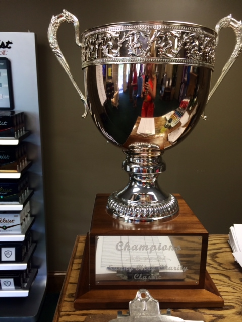 The Sunny King Charity Classic trophy