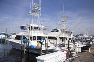 Gulf Coast charter boats