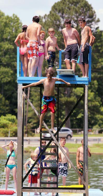 Jump! at Crystal Springs Lake