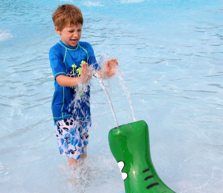 Spray! at Piedmont Aquatic Center