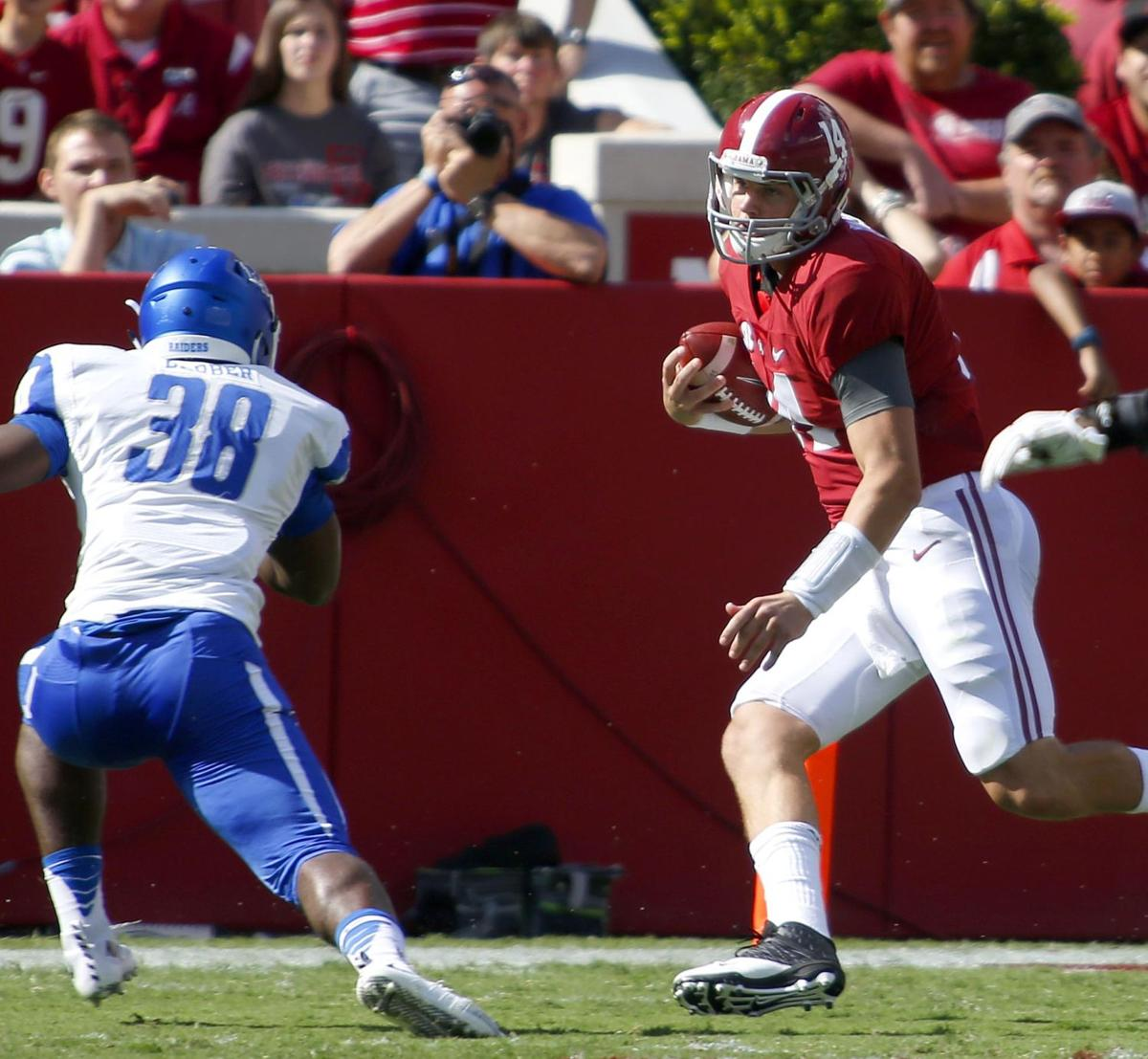 Four downs: A closer look at Alabamas win over Middle Tennessee State ...